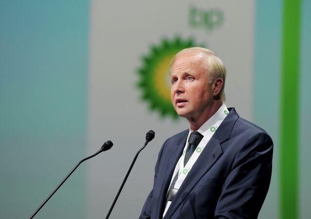 Bob Dudley, director ejecutivo de British Petroleum (archivo)