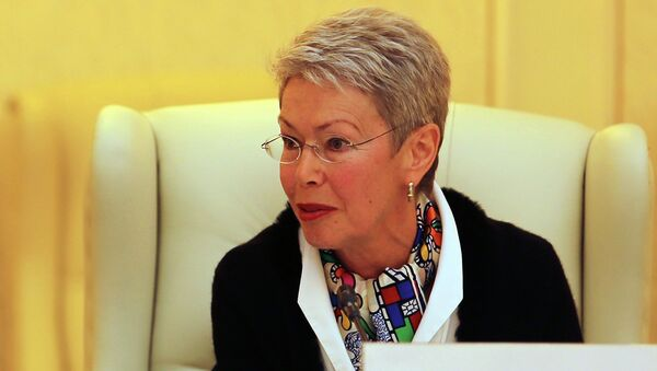 Heidi Tagliavini, emisaria de la OSCE en el Grupo de Contacto Trilateral para Ucrania (archivo) - Sputnik Mundo