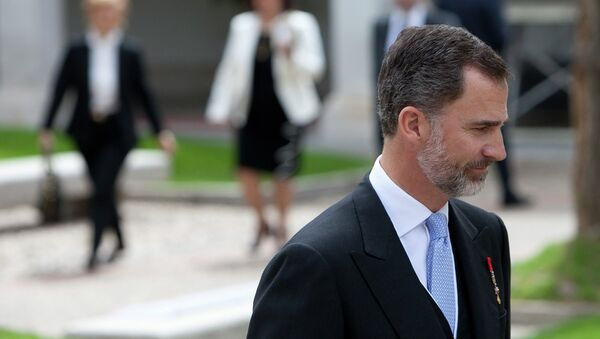 Rey Felipe VI - Sputnik Mundo
