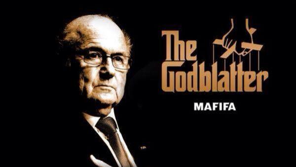 Un meme de dimisión de Blatter - Sputnik Mundo