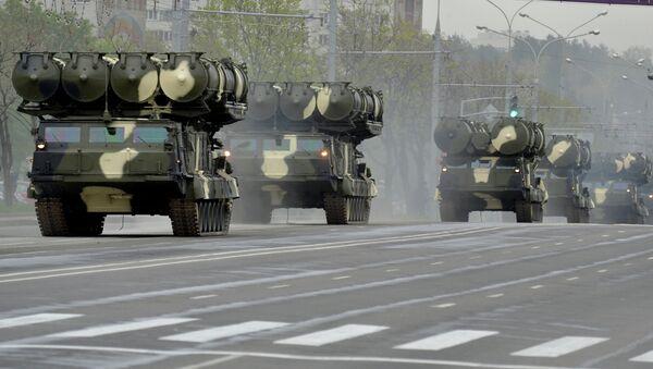 Репетиция парада в Минске в честь 70-летия Победы в Великой Отечественной войне - Sputnik Mundo