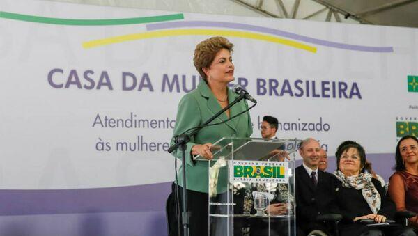 Inauguração da Casa da Mulher Brasileira - Sputnik Mundo