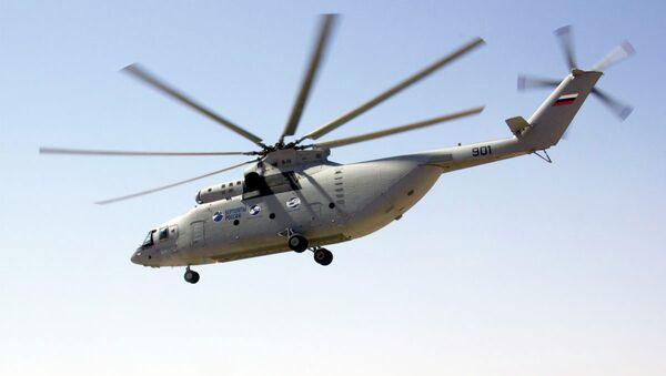Helicóptero Mi-26T2 - Sputnik Mundo