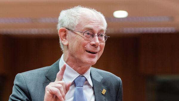 Herman Van Rompuy, expresidente del Consejo de Europa - Sputnik Mundo