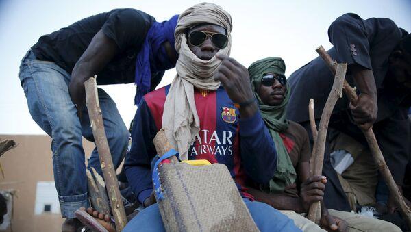 Migrantes africanos - Sputnik Mundo