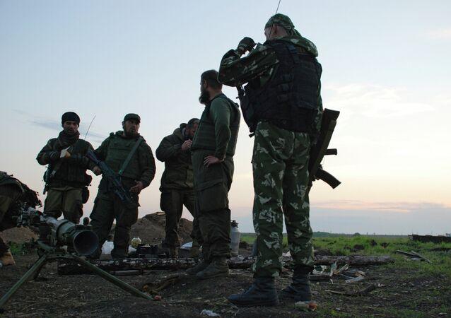 Milicias de Donbás (archivo)