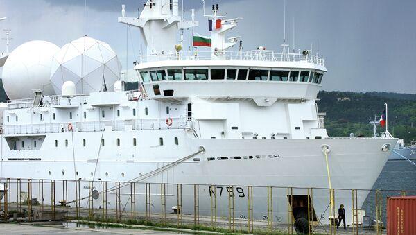 Buque de la Armada francesa (imagen referencial) - Sputnik Mundo