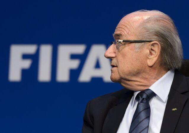 Joseph Blatter, expresidente de la FIFA (archivo)