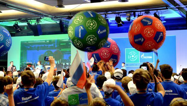 Primer Foro Internacional de Niños Fútbol para la amistad - Sputnik Mundo