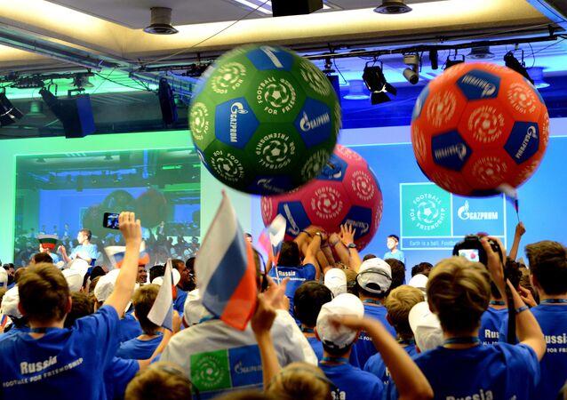 Primer Foro Internacional de Niños Fútbol para la amistad