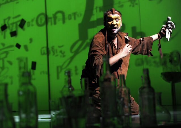 Un ensayo de La Tempestad en el teatro Et Cetera