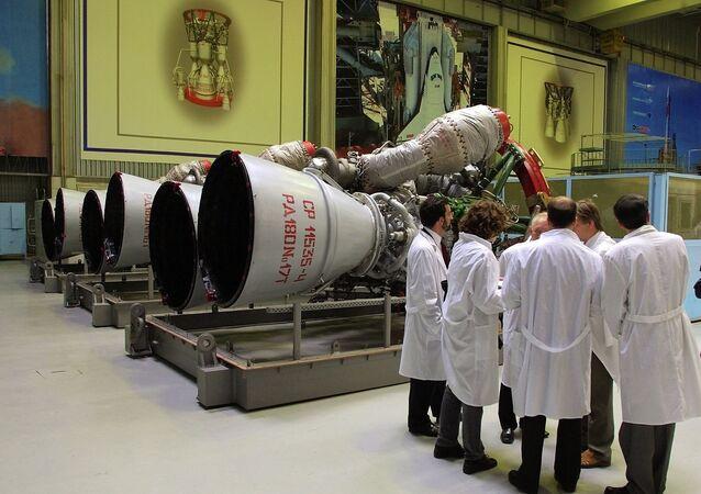 Motor del cohete RD-180