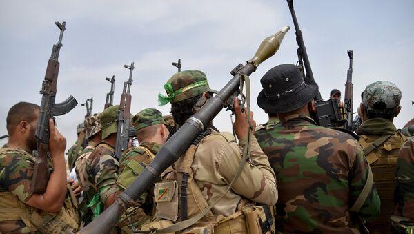 Militares chiíes en Irak (archivo) - Sputnik Mundo