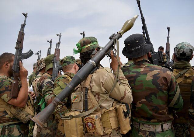 Militares chiíes en Irak (archivo)