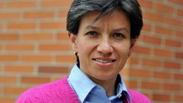 Claudia López, senadora colombiana por Alianza Verde - Sputnik Mundo