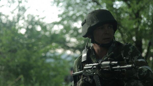 Fuertes combates entre Kiev y las milicias en Marinka - Sputnik Mundo