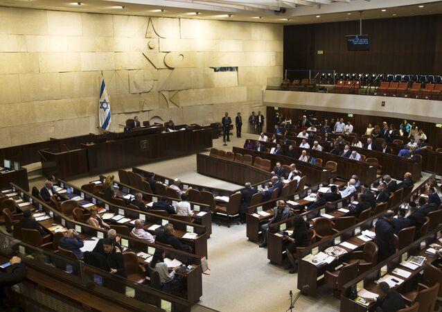 Parlamento de Israel, la Kneset (archivo)