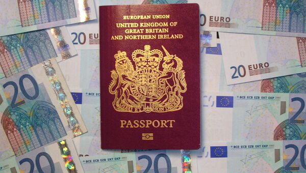 Pasaporte del Reino Unido - Sputnik Mundo