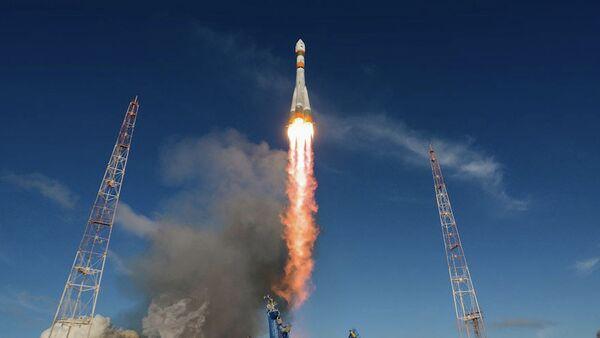 Lanzamiento del cohete Soyuz-2.1a (Archivo) - Sputnik Mundo