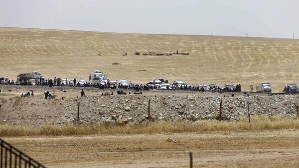 Frontera turco-siria - Sputnik Mundo