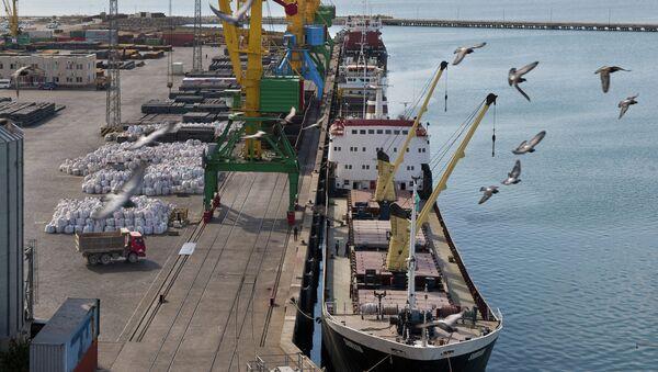 Puerto de Aktau de Kazajistán - Sputnik Mundo