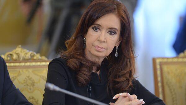 Cristina Kirchner, presidenta de Argentina - Sputnik Mundo