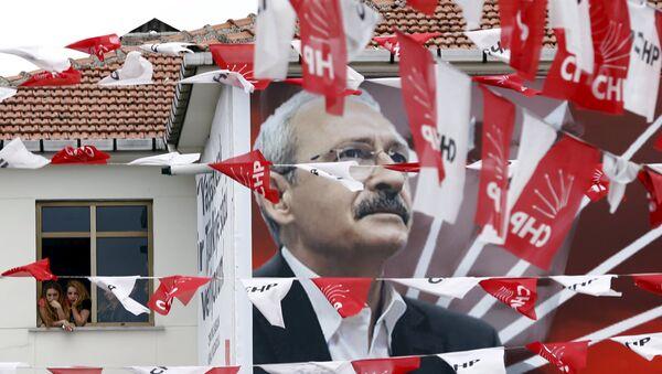 Elecciones parlamentarias en Turquía - Sputnik Mundo
