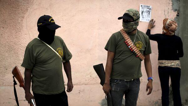 Policías de Guerrero - Sputnik Mundo