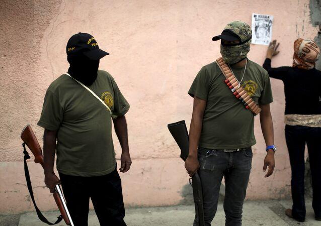 Policías de Guerrero