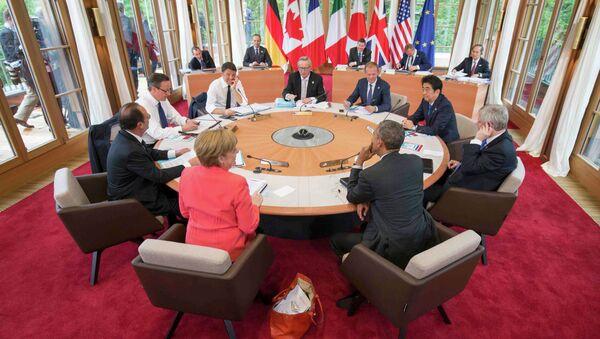 Cumbre del G7 en Alemania - Sputnik Mundo