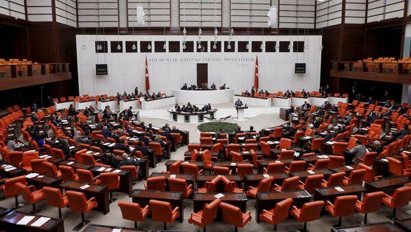 Parlamento de Turquía - Sputnik Mundo