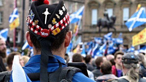 Referéndum de independencia de Escocia (Archivo) - Sputnik Mundo