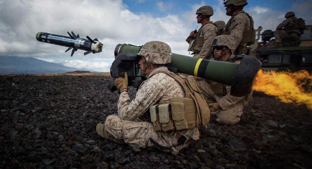 Sistema de misiles antitanque Javelin