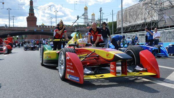 La Fórmula E llega a Moscú - Sputnik Mundo