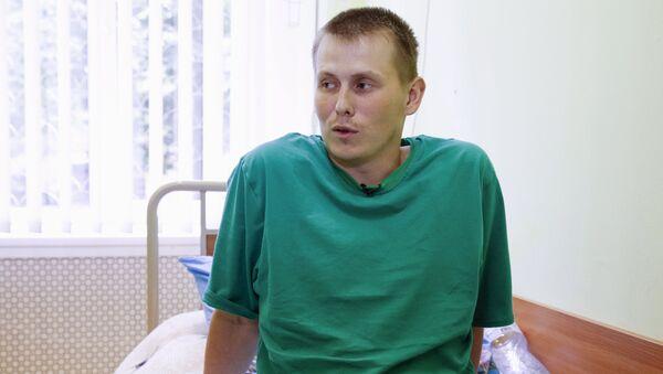 Alexandr Alexándrov, uno de los ciudadanos rusos detenidos en Donbás - Sputnik Mundo