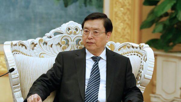 Zhang Dejiang, presidente del Comité Permanente de la Asamblea Popular Nacional de China - Sputnik Mundo