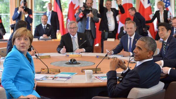 Cumbre del G7 en Baviera - Sputnik Mundo