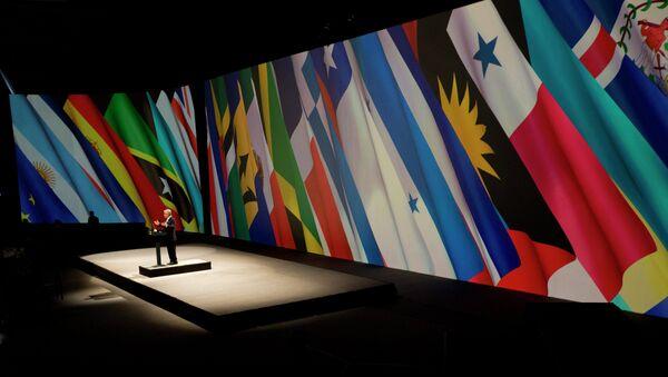 El discurso del presidente de Chile durante cumbre CELAC-UE en Santiago, 2013 - Sputnik Mundo