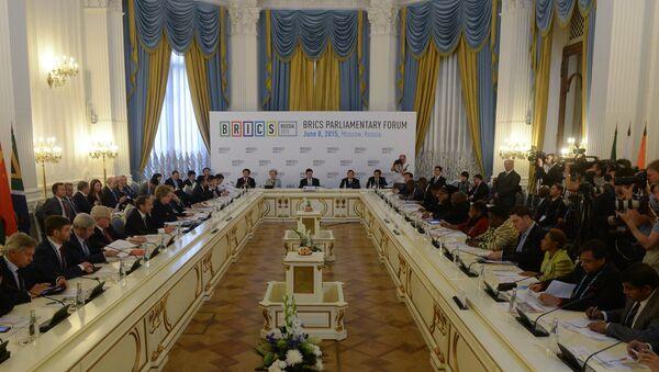 Foro interparlamentario de los BRICS - Sputnik Mundo