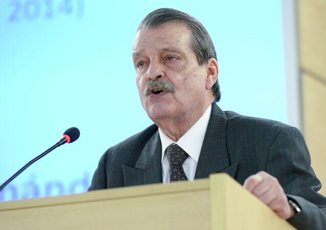Abelardo Moreno, viceministro cubano de Exteriores