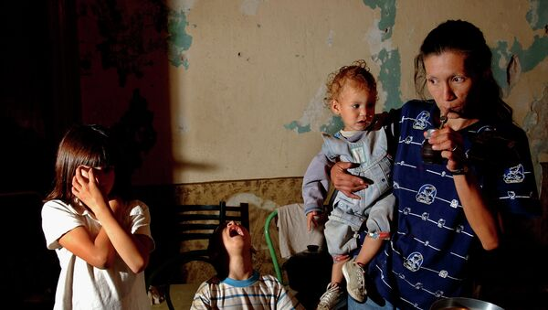 La familia pobre en Buenos Aires - Sputnik Mundo