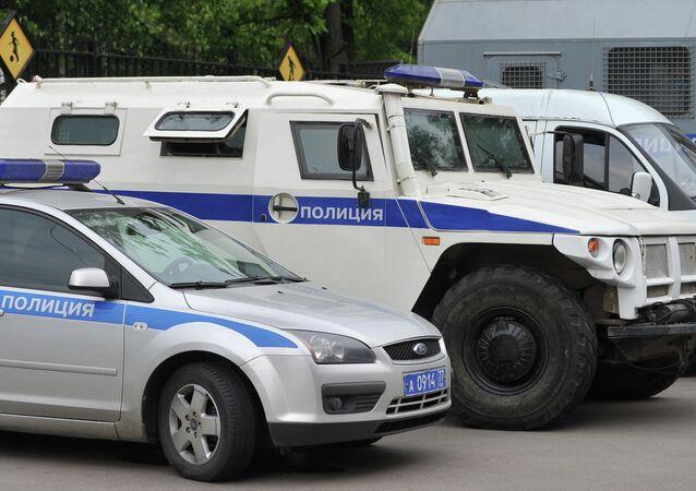 Policía rusa (archivo)