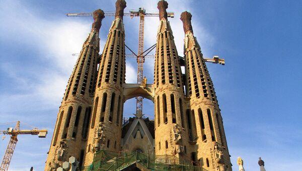 Sagrada Familia de Barcelona - Sputnik Mundo