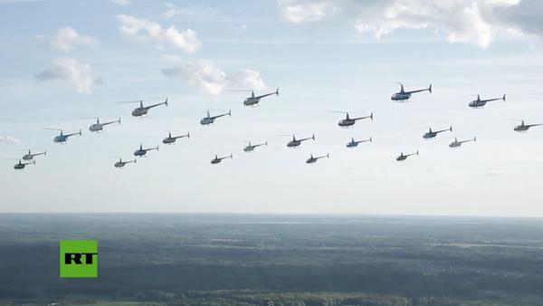 Pilotos de helicópteros rusos establecen un nuevo récord mundial - Sputnik Mundo
