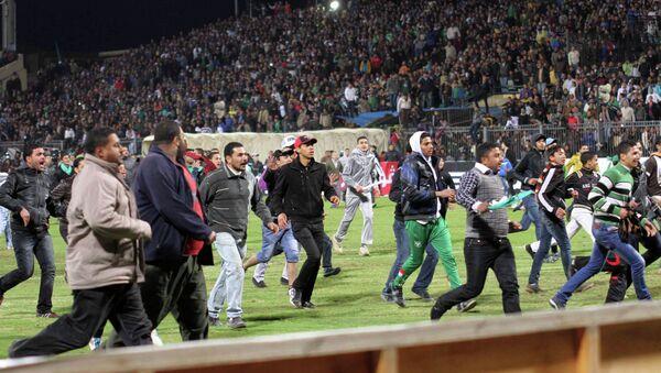Disturbios en el estadio de Port Said, el 1 de febrero de 2012 - Sputnik Mundo