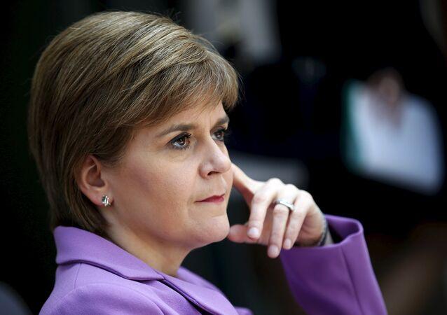 Nicola Sturgeon, primera ministra de Escocia