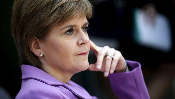 Nicola Sturgeon, primera ministra de Escocia - Sputnik Mundo