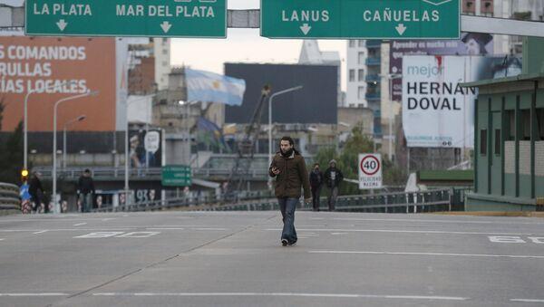 Huelga general en Buenos Aires - Sputnik Mundo