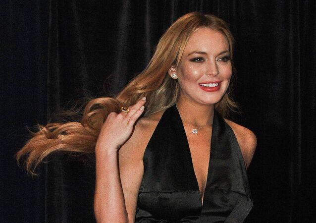 Lindsay Lohan, actríz estadounidense (archivo)