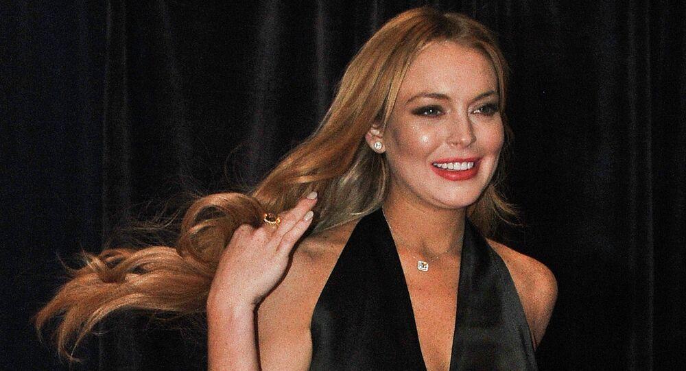 Lindsay Lohan, actríz estadounidense